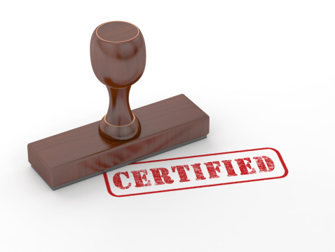 certify id documents